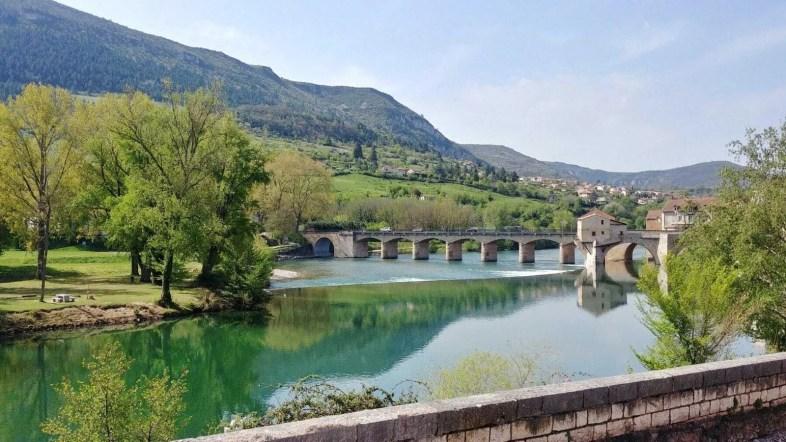 riviere millau velo electrique blogtrip aveyron
