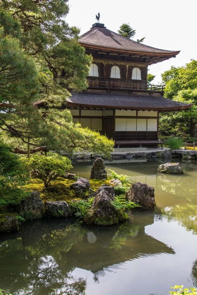 ginkaku-ji pavillon argent - kyoto