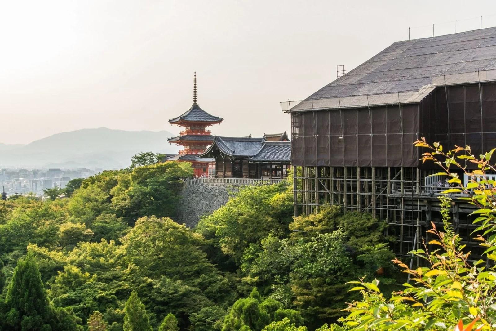 kiyomizu dera quartier higashiyama - kyoto