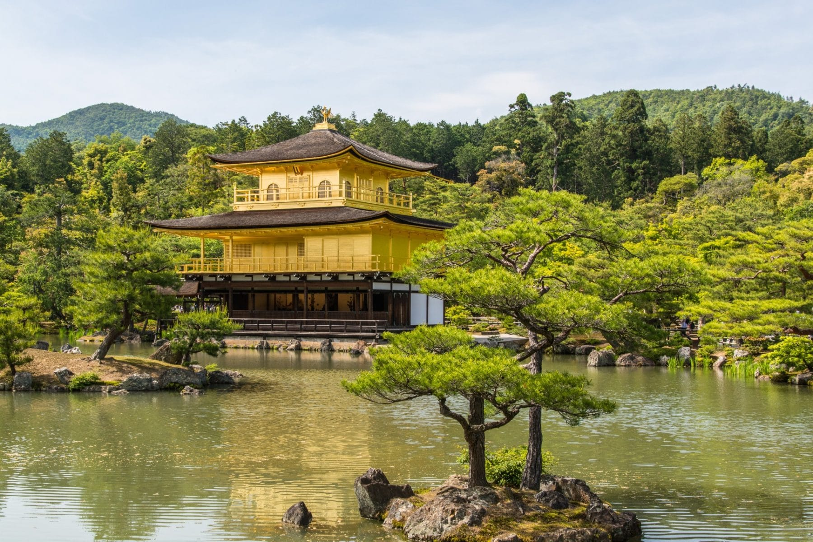 pavillon d'or - kinkaku-ji - kyoto