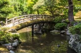 pont jardin interieur palais imperial kyoto