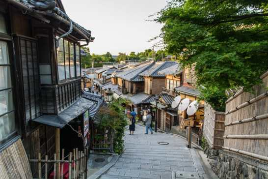 rue ninenzaka - quartier higashiyama kyoto