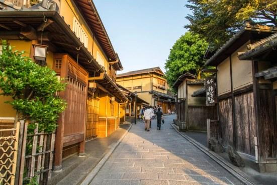 rue quartier higashiyama vers ninenzaka kyoto