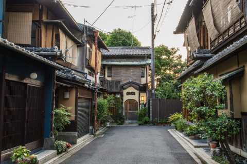 ruelle vers gion kyoto