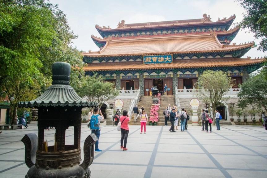 cour po lin monestary - lantau island hong kong