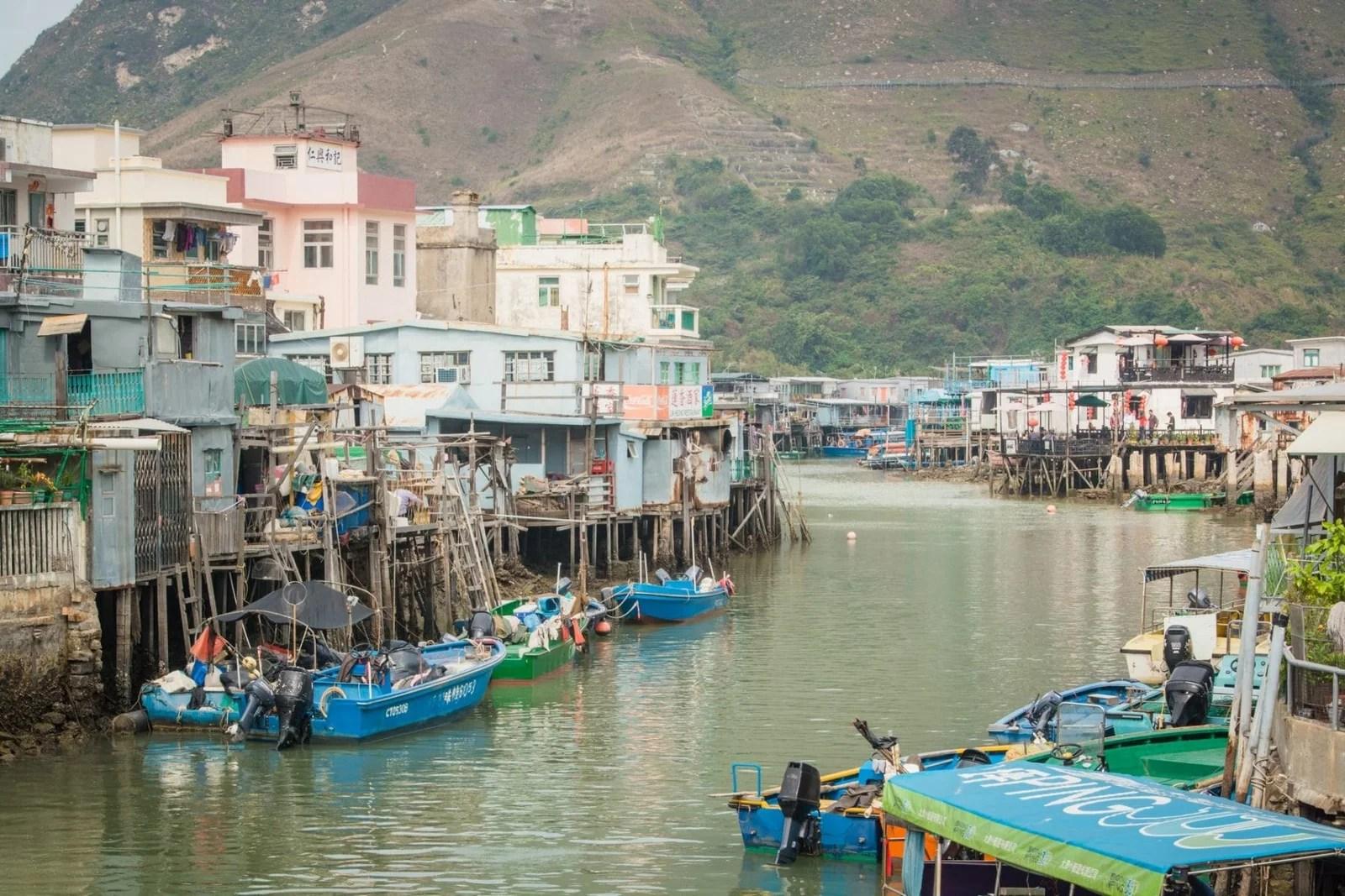 port village tai o - lantau island hong kong