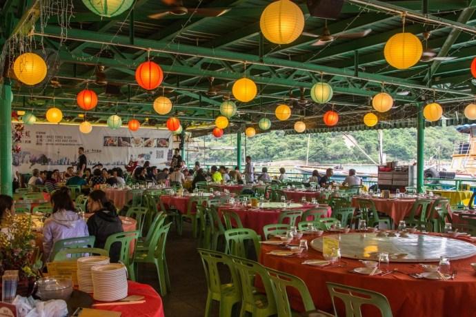 restaurant seafood - lamma island - hong kong
