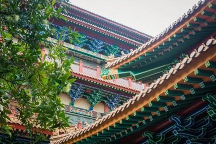 toits po lin monestary - lantau island hong kong