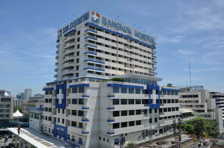 bangkok hospital thailande