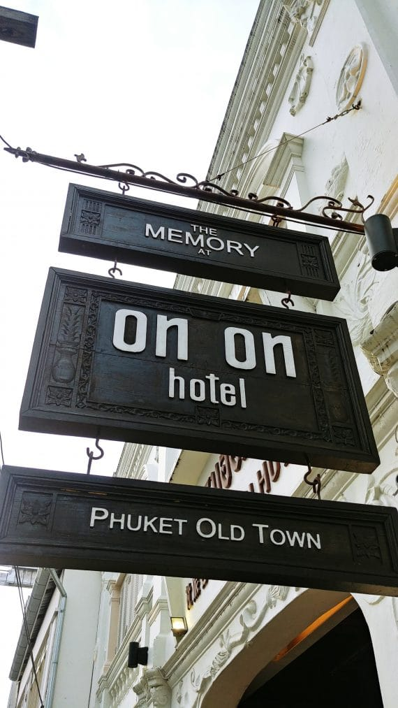 panneau the memory at on on hotel - phuket town