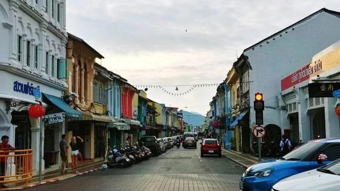 thalang road soir phuket town