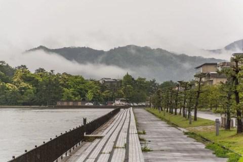 bord mer amanohashidate japon