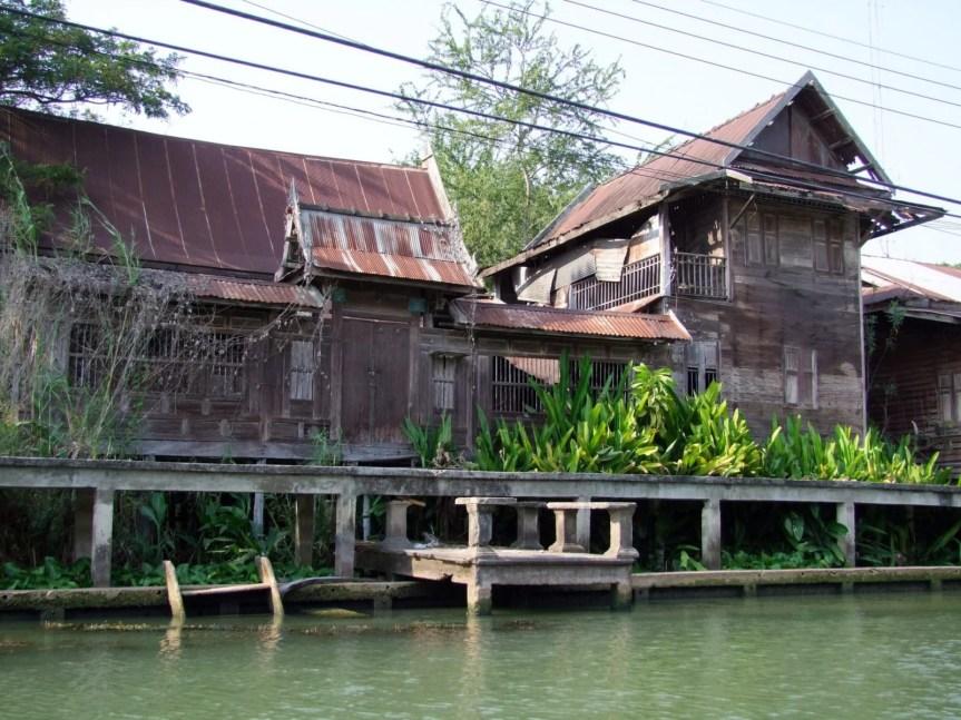 maison bois damnoen saduak