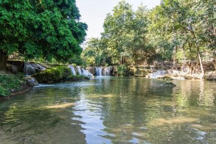 etage chutes chet sao noi waterfall muak mek - khao yai - thailande