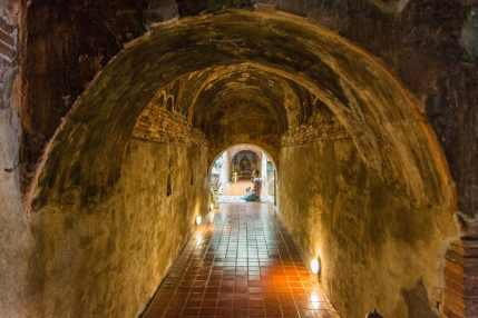 priere tunnel wat umong - chiang mai