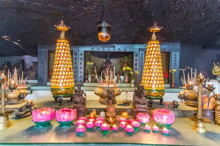 autel temple ling sen tong - ipoh - malaisie