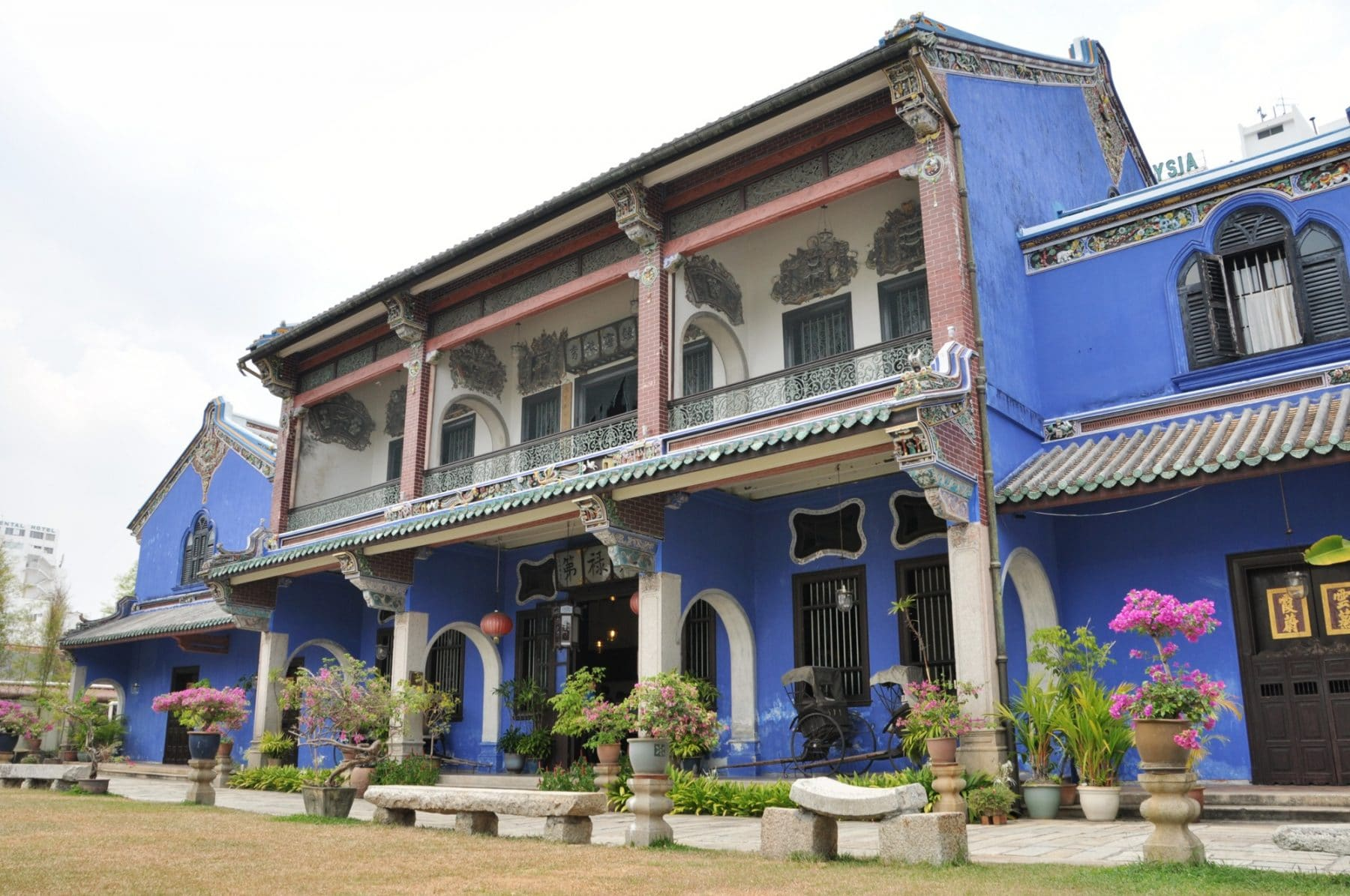 blue mansion penang - malaisie 2014