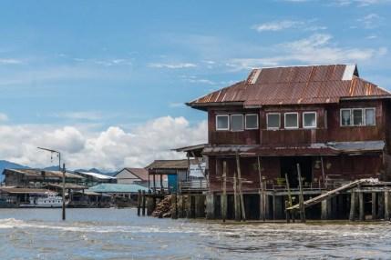 maison sur pilotis - ranong - thailande