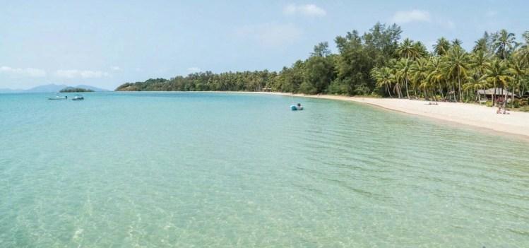 plage ao suan yai koh mak - thailande