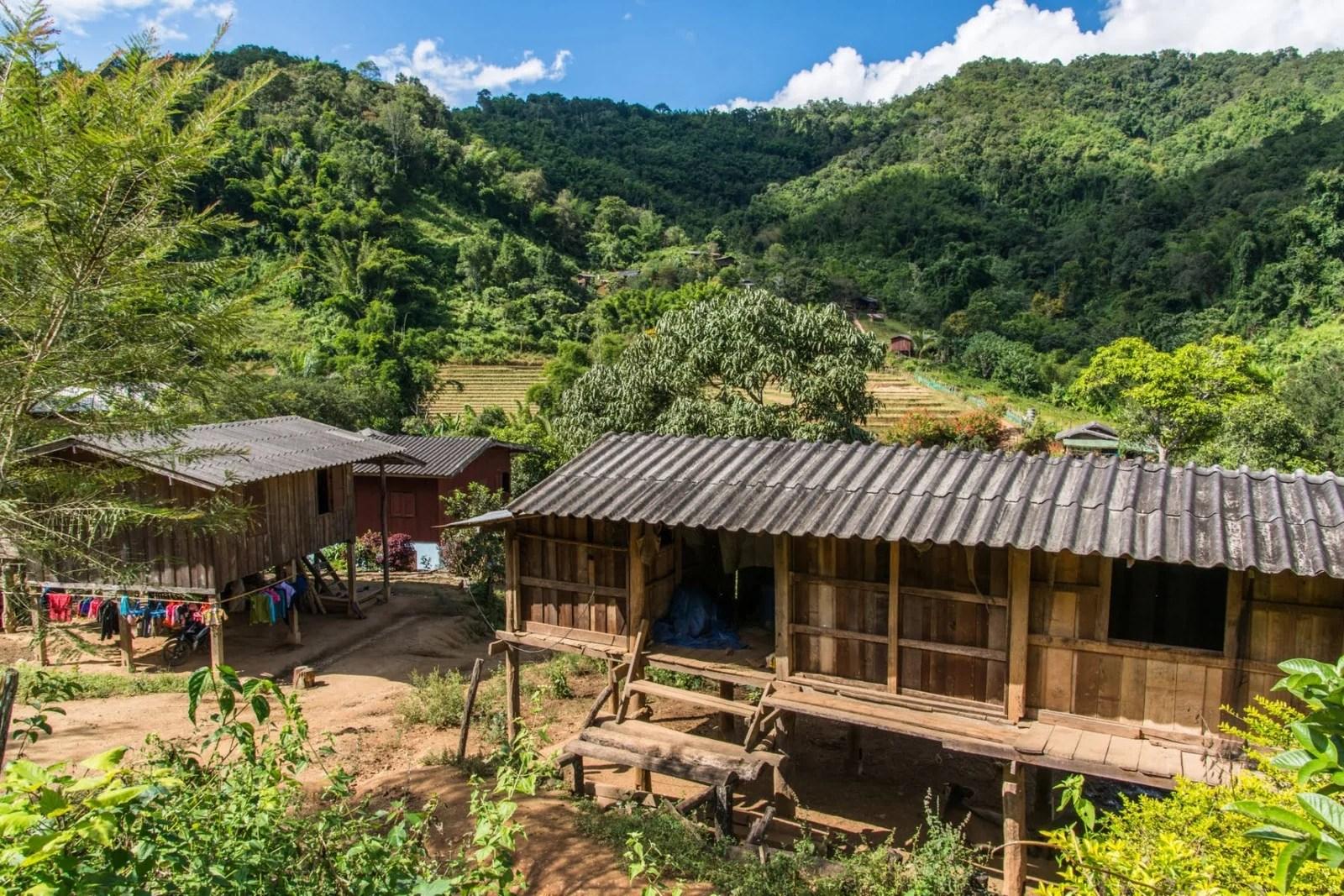 cover trek 2 jours - chiang mai province - thailande