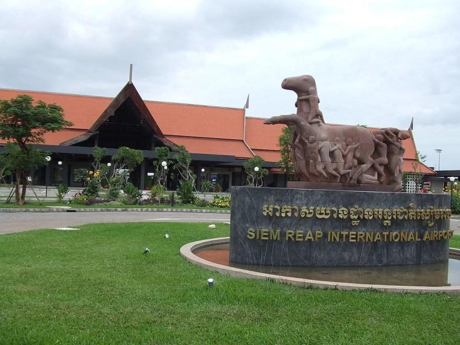 aeroport international siem reap cambodge