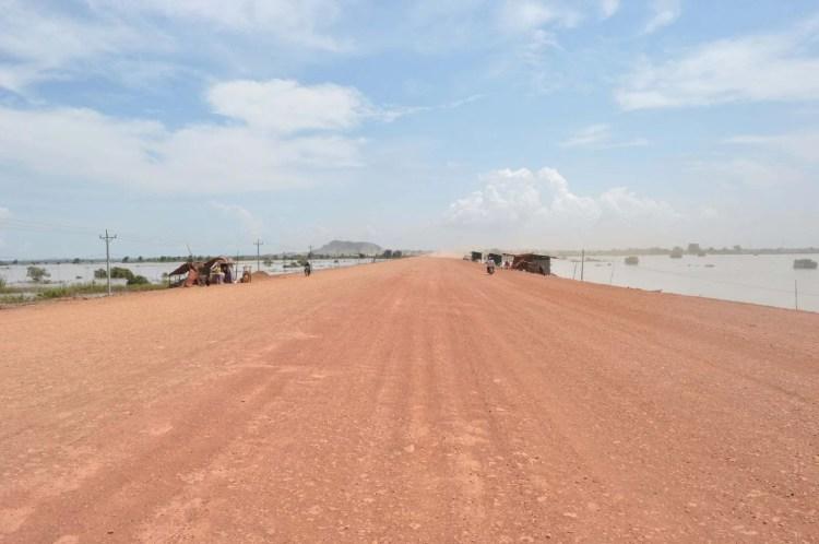 route phnom penh - siem reap