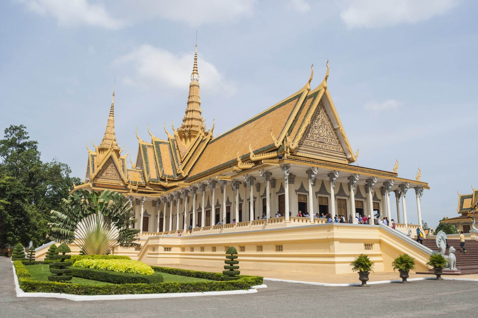 temple royal phnom penh - cambodge