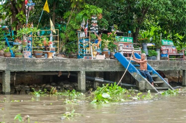 balade bateau amphawa - thailande