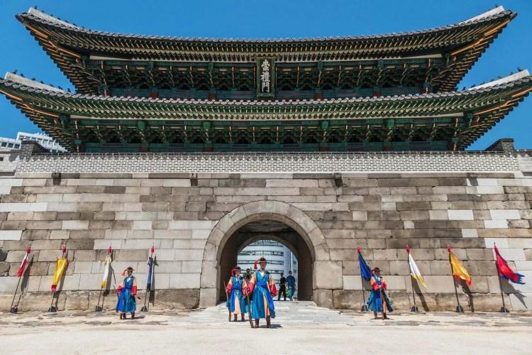 grande porte du sud namdaemun seoul