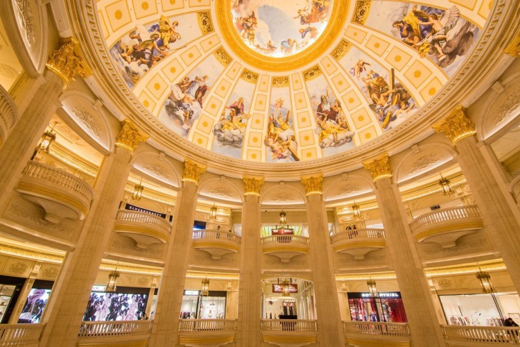 interieur casino the parisian macao