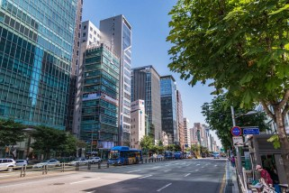 quartier gangnam seoul coree du sud