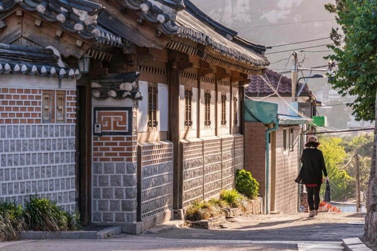rue vieux seoul coree du sud
