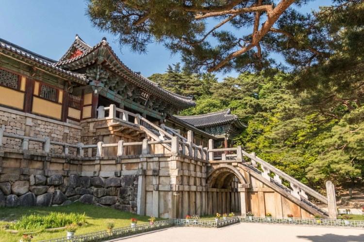 temple bulguksa gyeongju coree du sud
