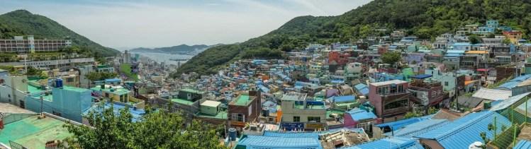 vue village gamcheon busan coree du sud