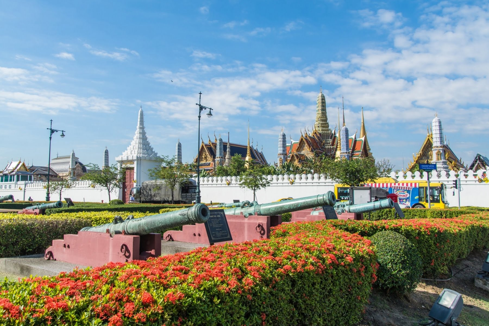 enceinte grand palais bangkok - thailande