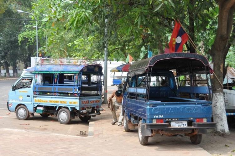 transport entre terminaux bus centre ville laos