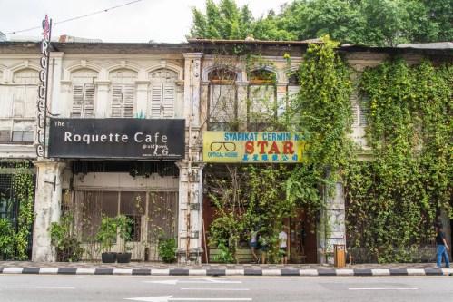 facades immeubles ipoh - malaisie