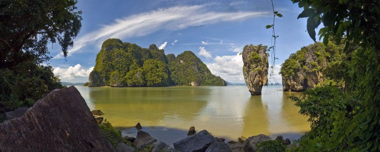 ko tapu depuis james bond island baie phang nga