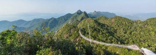 langkawi sky bridge - malaisie