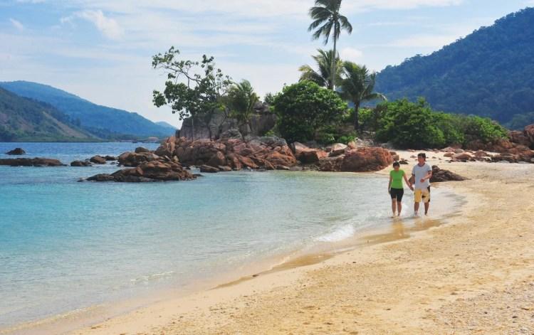 plage île redang malaisie