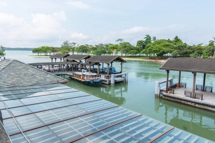 quai changi point ferry terminal singapour