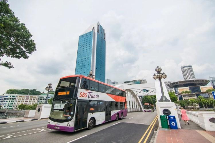 bus ville singapour