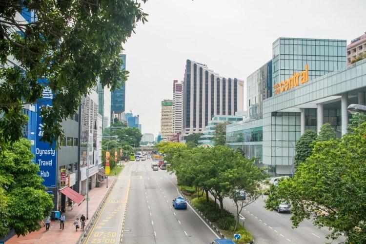 centre singapour circulation fluide