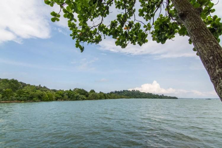 cotes sauvages pulau ubin singapour