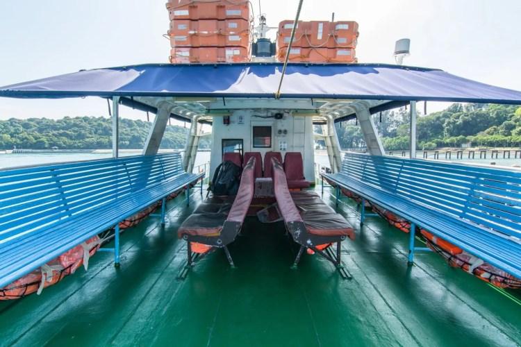 ferry ile st john et kusu island singapour