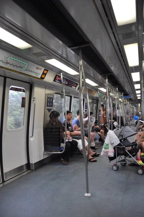 interieur metro singapour