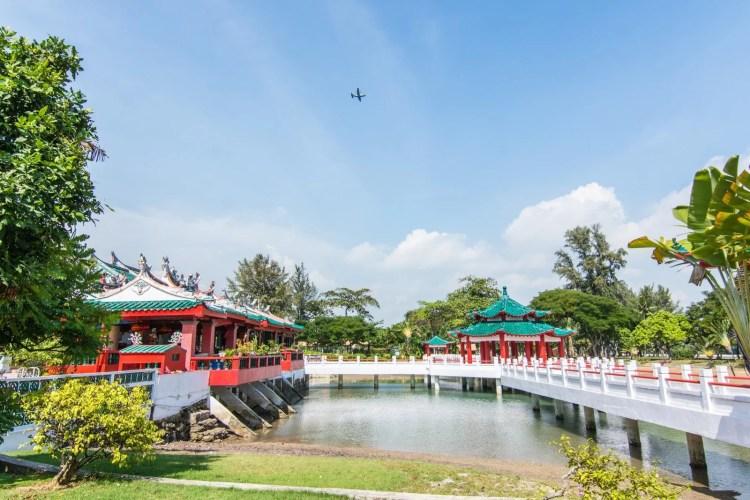 temple chinois ile kusu sud singapour