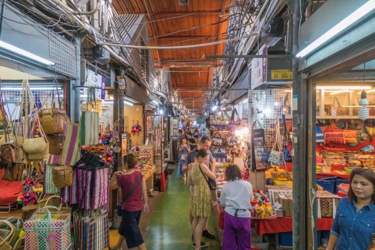 allée marché chatuchak weekend bangkok