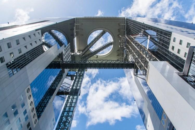 umeda sky building osaka japon