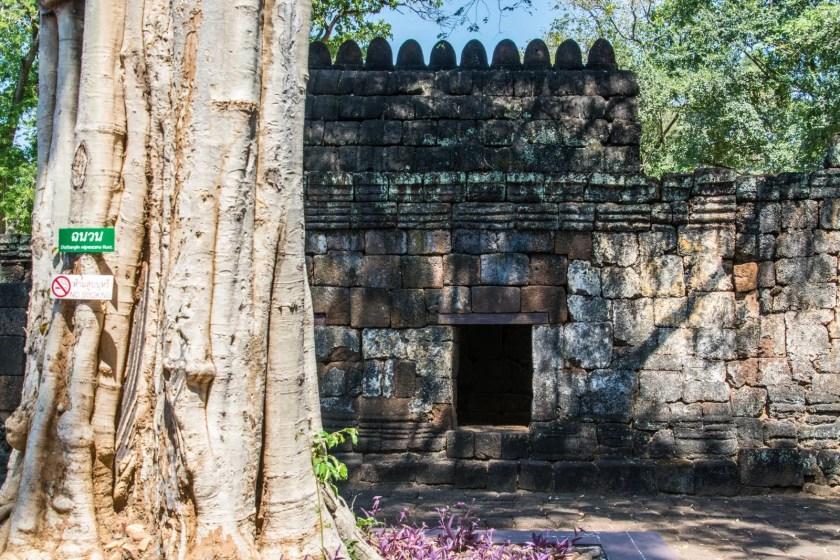 mur ruine khmere prasat muang sing kanchanaburi